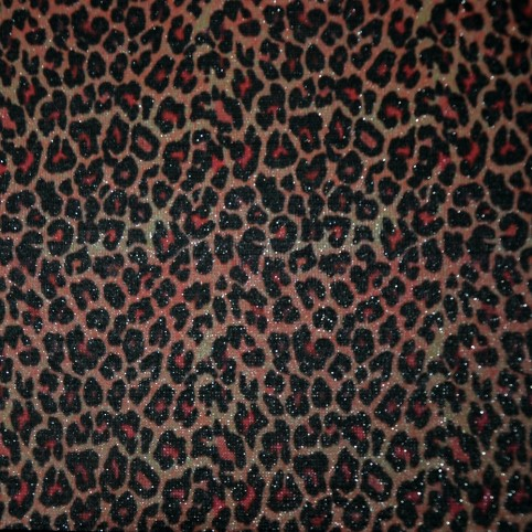 Leopard print PU leather,wholesale priting PU leather
